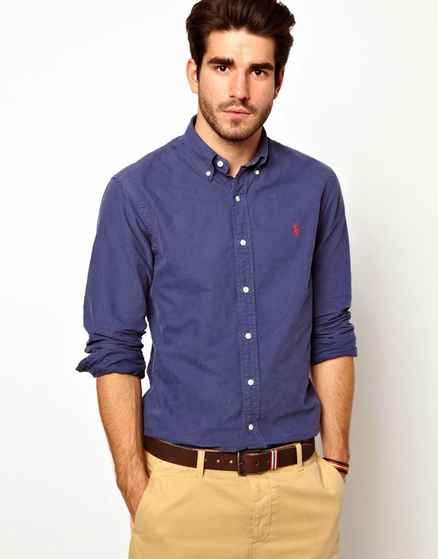 434277ef77e6 Ένα μπλε Oxford πουκάμισο μπορεί να συνδυαστεί σχεδόν με τα πάντα. Και  ειδικά με τα μανίκια γυρισμένα είναι απόλυτα χαλαρό. Το βαμβακερό